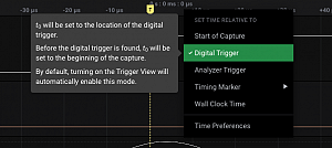 Sample time should be specified in relation to trigger (Header File Info)