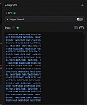 Bug - Terminal text doesn't reflow properly when panel is resized