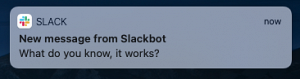 Native OS Notifications